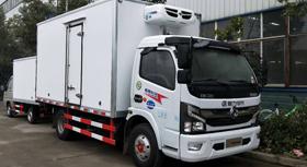 东风凯普特4.2米冷藏车(日产150马力)